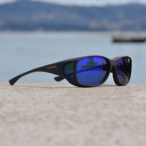 Cocoons Style Line (MX) Black Polarized Blue