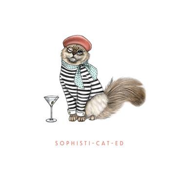 Sophisti-cat-ed