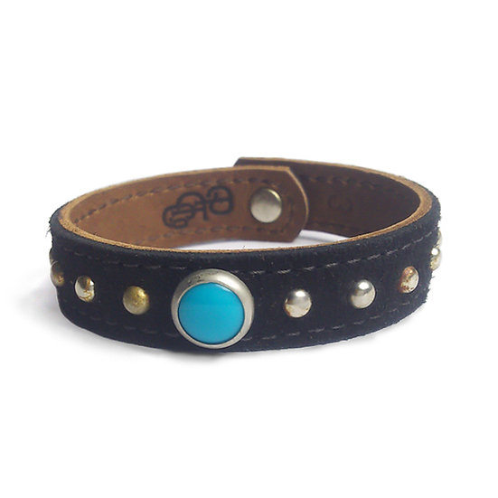 SUEDE & LEATHER BRACELET