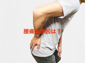 腰痛の原因は?