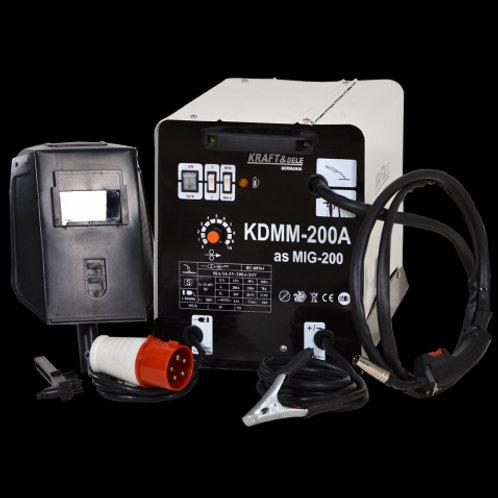 KD830 200A Kraft&Dele MIG/MAG Flux welder