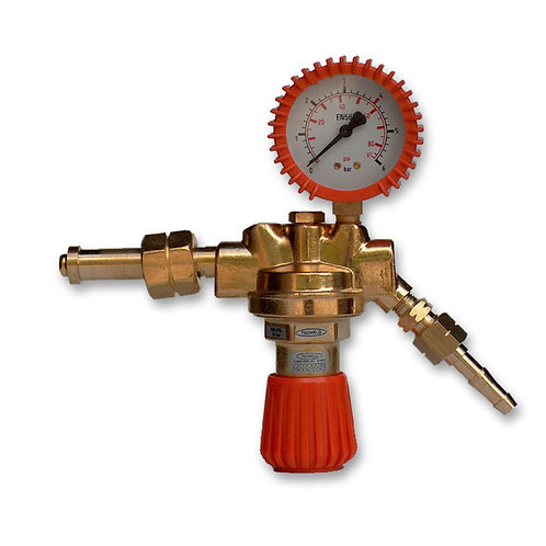Sherman Propane Butane gas single gauge regulator