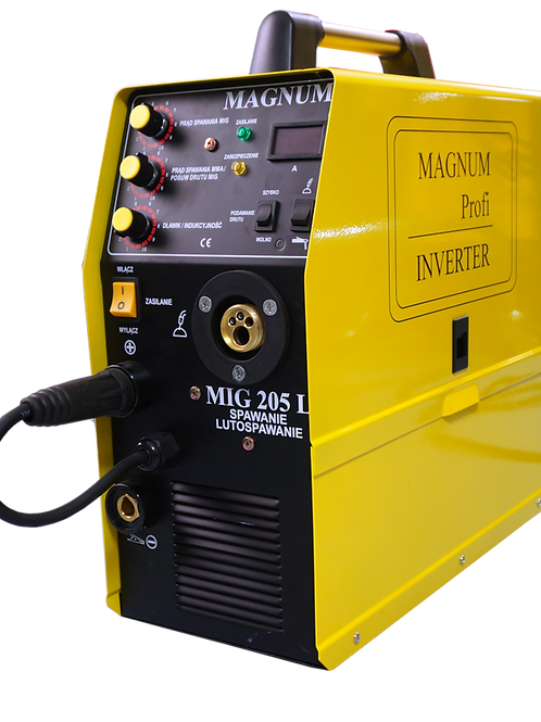 Magnum MIG 205L semi auto MIG/MAG welder 200A