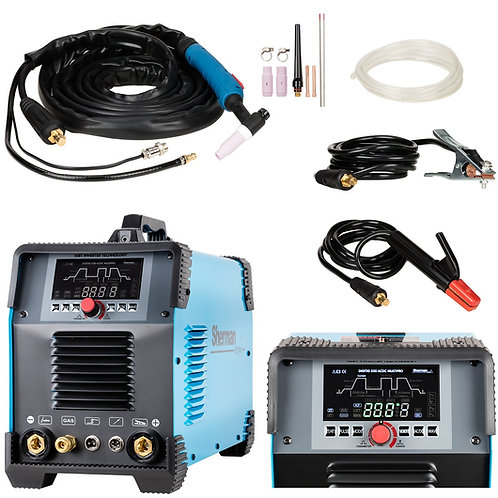 Sherman DIGITIG 200 AC/DC Multipro Welder Inverter