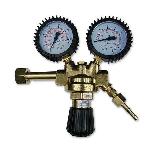 Sherman Nitrogen gas twin gauge regulator