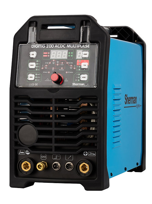 Sherman DIGITIG 200 AC/DC Multipulse Welder Inverter