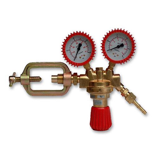Sherman Acetylene gas twin gauge regulator