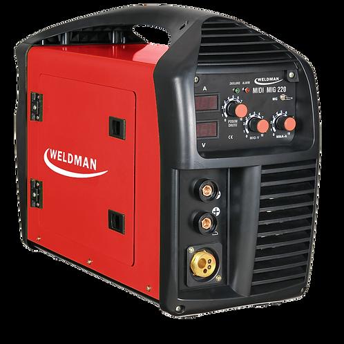 Weldman Midi Mig 220 200A