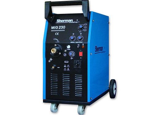 Sherman MIG230/2 Transformer welder 200A