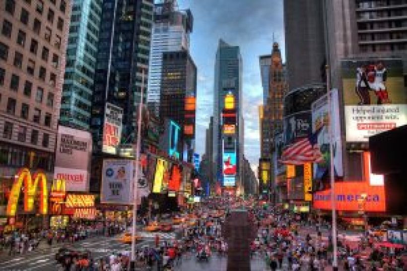 One day in New York Evening