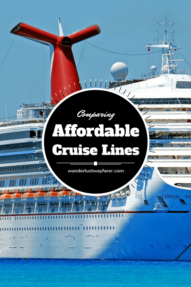 affordable cruise lines