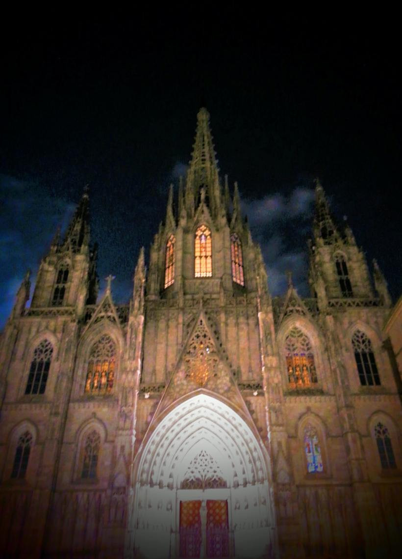 One day in Barcelona