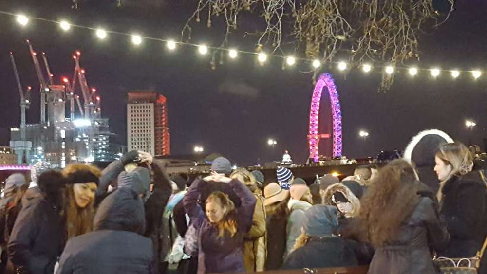 New Year's Eve at the London Eye