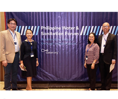 WaterLinks Participation: Philippine Water and Sanitation Forum 2018