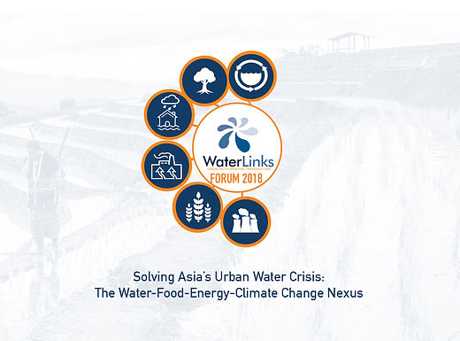 WL Forum 2018 | Solving Asia's Urban Water Crisis: The Water-Food-Energy-Climate Change Nexus
