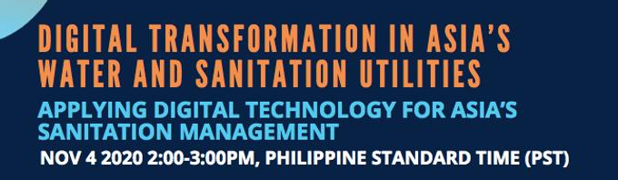 Applying Digital Technology for Asia's Sanitation Management