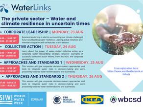 Stockholm International Water Week