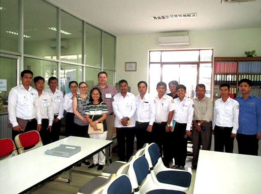 2nd  Mentor Visit to Phnom Penh , Cambodia