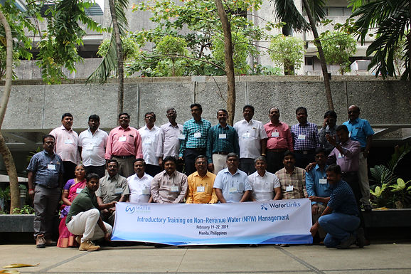 25 Water Engineers from India Participate in WaterLinks' Introductory Training Program in Non-Revenue Water Management