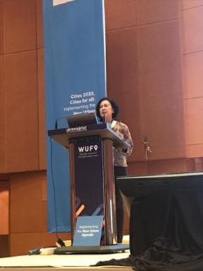WaterLinks at the 9th World Urban Forum in Kuala Lumpur, February 2018