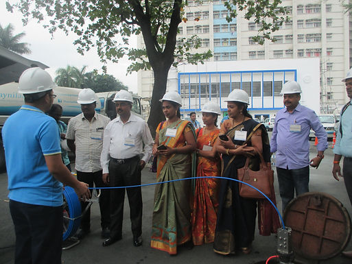 They're Back!! NRW Training for Tamil Nadu Water Engineers
