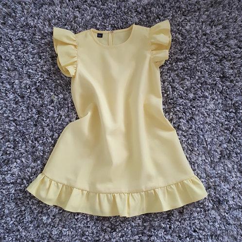 Suknelė BARBIE yellow