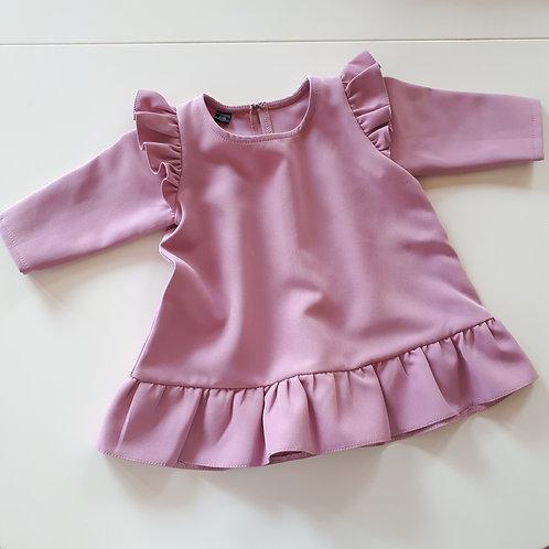 Suknelė ilgomis rankovėmis BARBIE dusty lilac