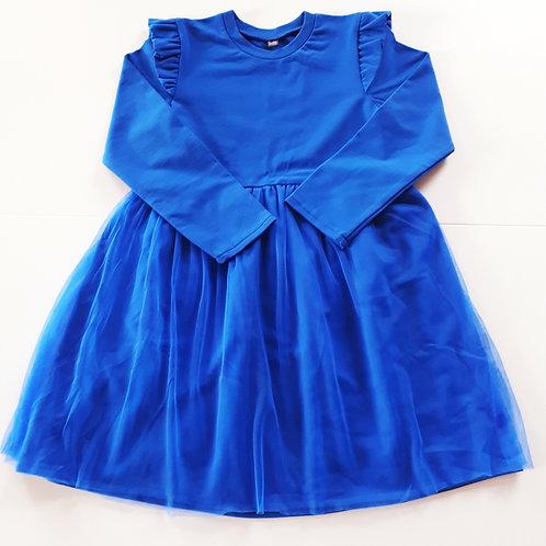 Suknelė su tiuliu FAIRY blue