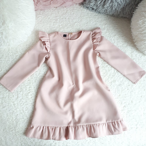 Suknelė ilgomis rankovėmis BARBIE light lilac