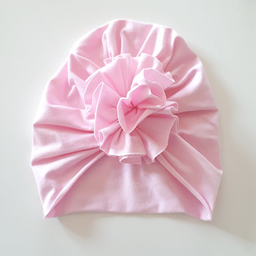 Vienguba plona kepurė TURBAN pink