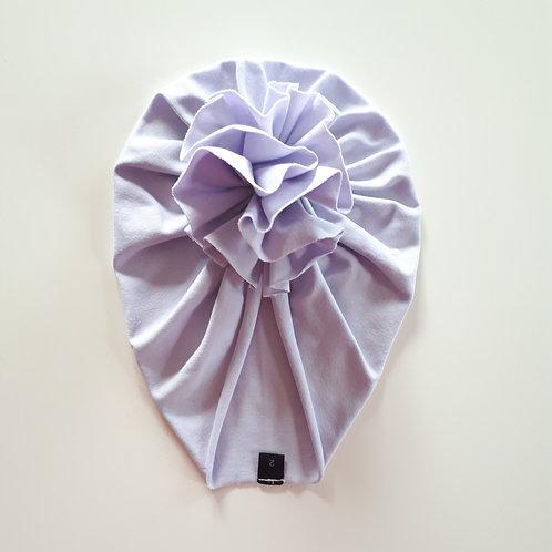 Vienguba plona kepurė TURBAN light lilac