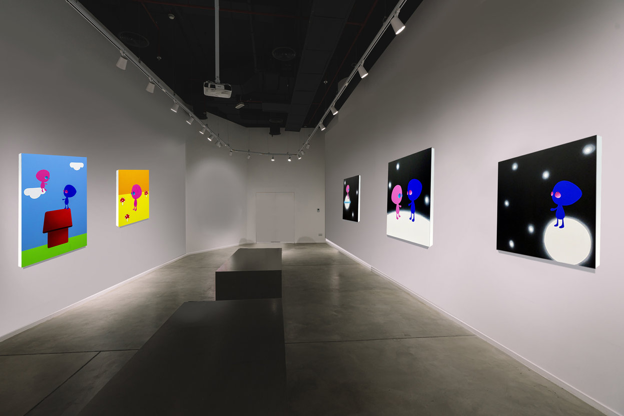 Solo Show 'Alone Together', Four You Gallery, 2020