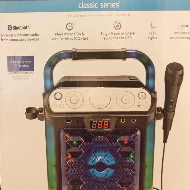 Karaoke Machine Rental $25