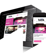 Blink Eyewear Website