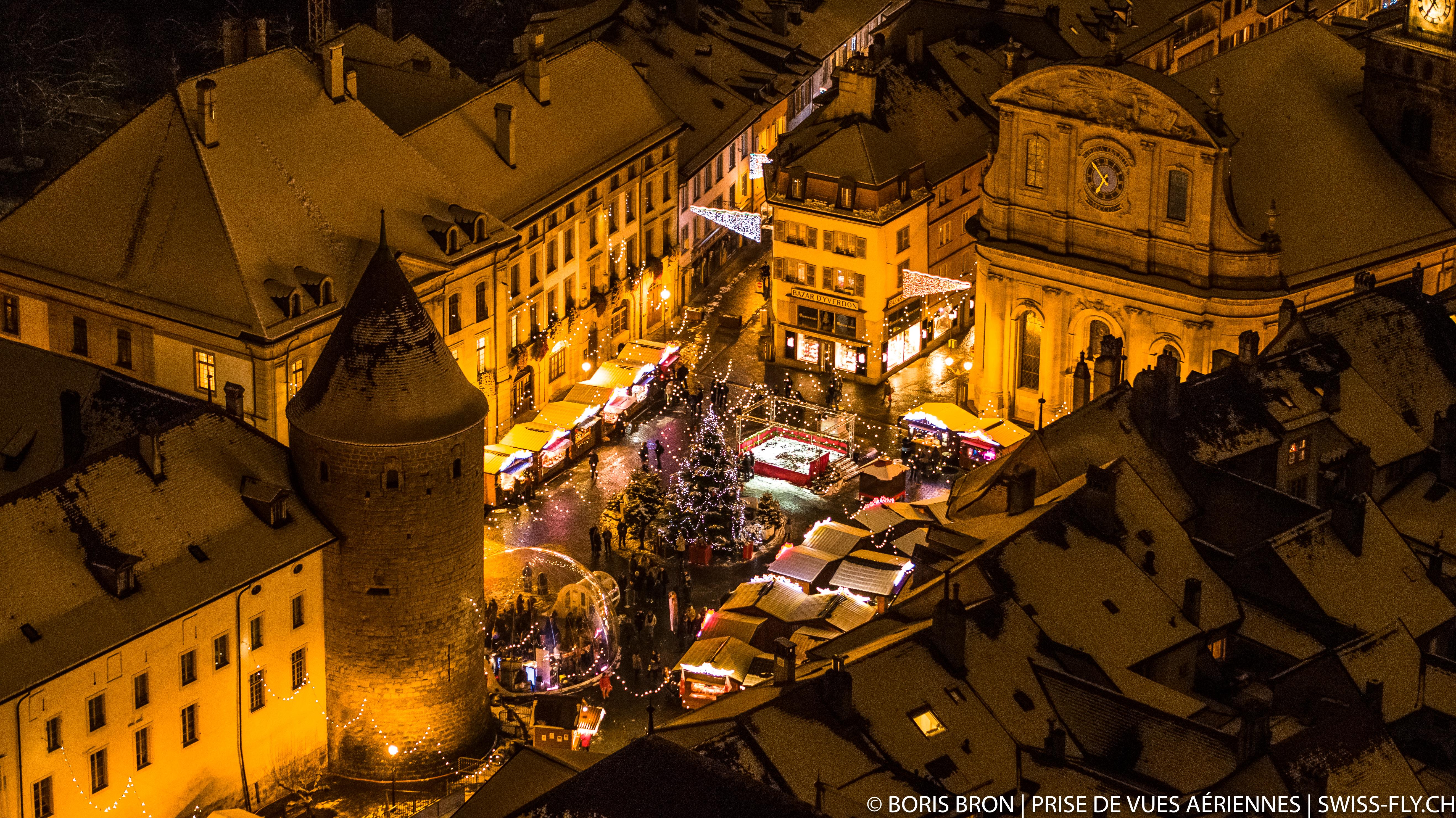 Marché de Noël - Yverdon-les-Bains