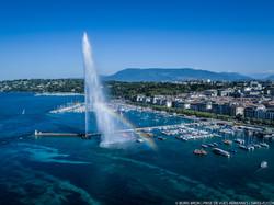 Jet d'eau de Genève.