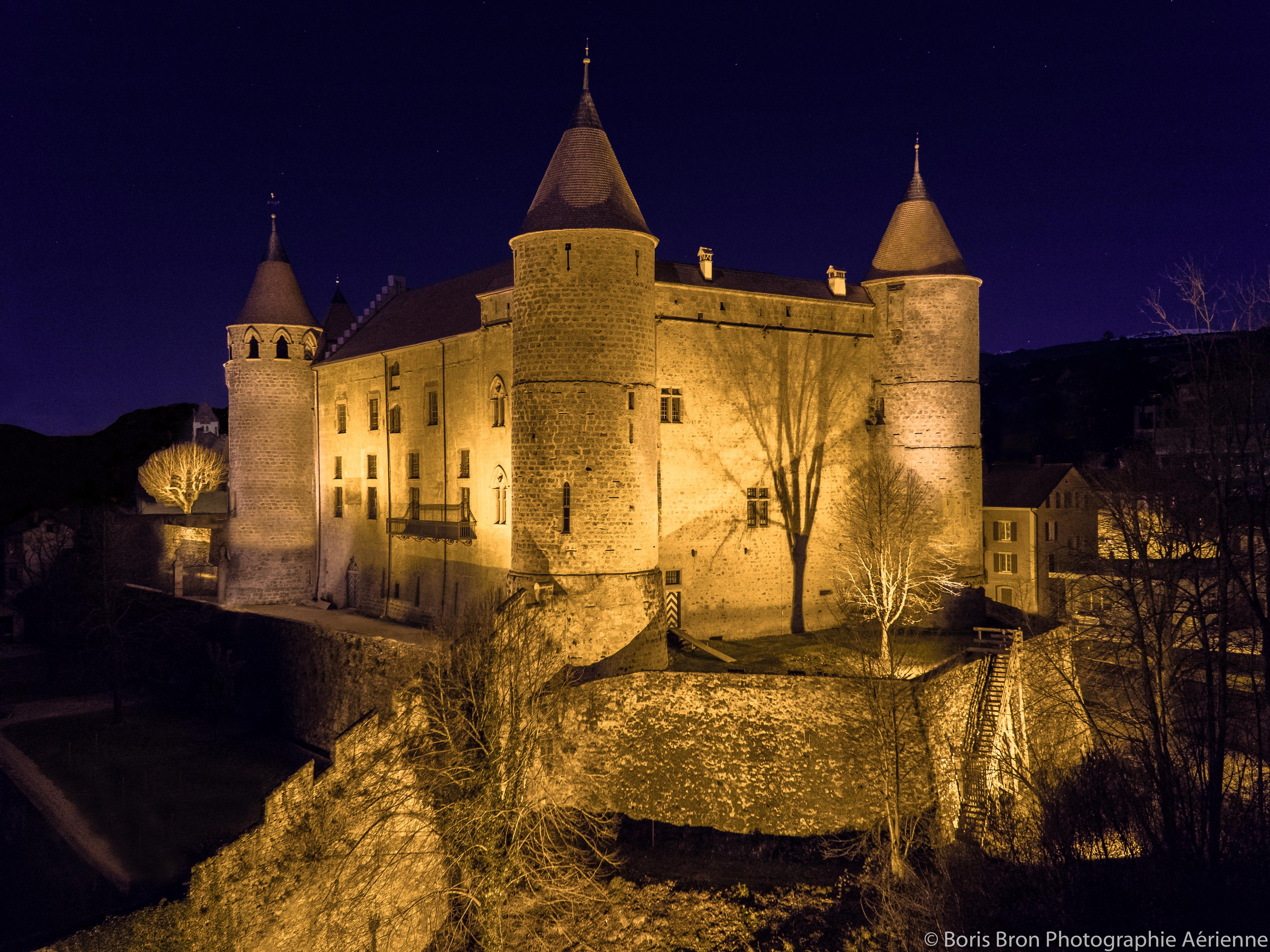 Château de Grandson.