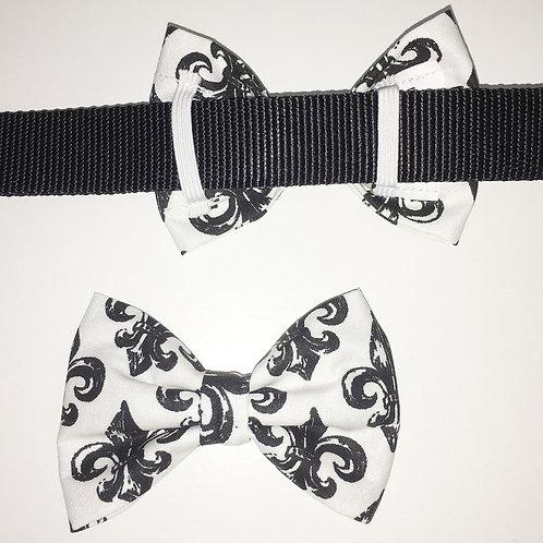 Fleur de Lis Bow Tie