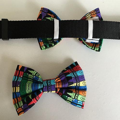 Crayon Bow Tie