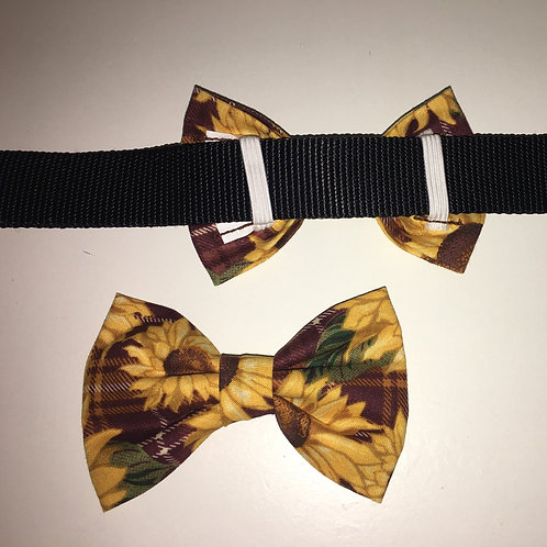 Sunflowers Bow Tie
