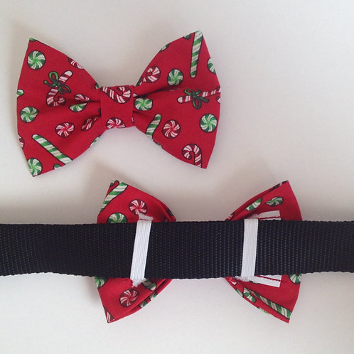 Christmas Candy Bow Tie