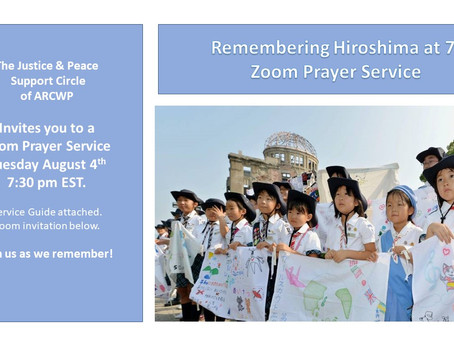 Remembering The 75th Anniversary of Hiroshima