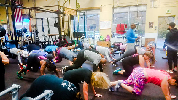 Bootcamp group personal training