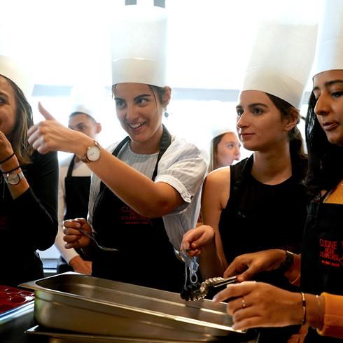 Eleves Assas chez Cuisine mode d'emploi