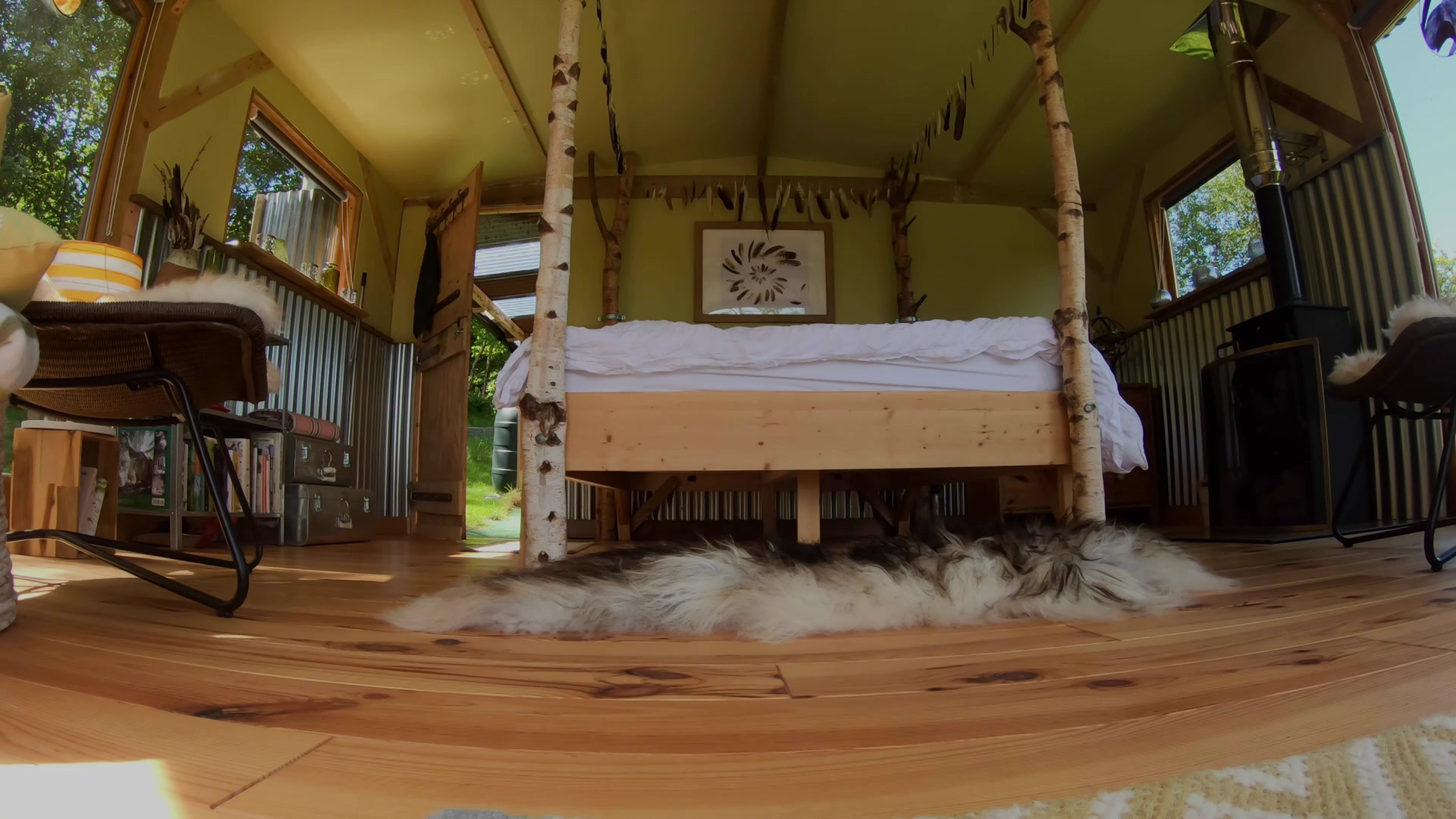 Featheroo glamping experience promo
