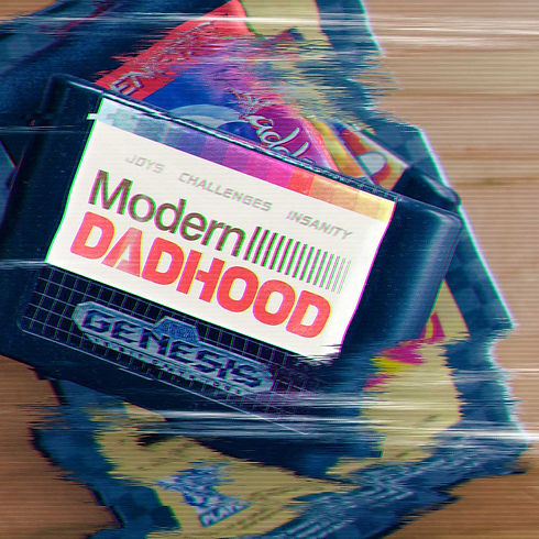 Modern Dadhood Sega game graphic