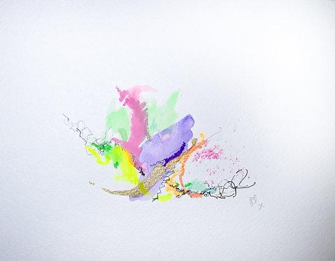 28 Watercolour Mini