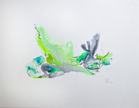 30 Watercolour Mini
