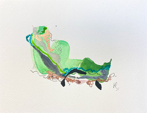 33 Watercolour Mini