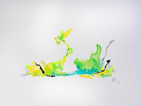 12 Watercolour Mini